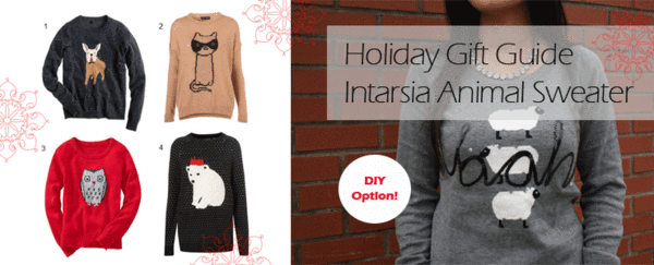 DIY Animal Sweater, Intarsia Sweater, DIY Fashion Sweater