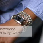 DIY :: Rhinestone Strand Wrap Watch