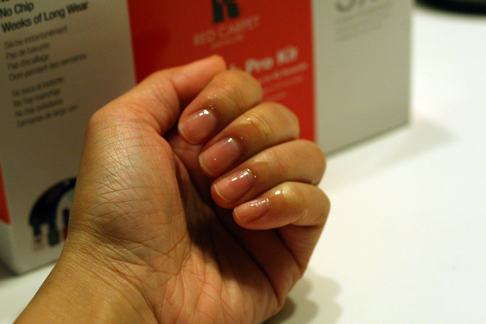 red carpet manicure review, at home shellac, removing shellac at home, removing gel polish at home