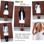 Must Have :: White Dress, 4 Ways (from MOON Apparel)