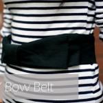 DIY :: Bow Belt