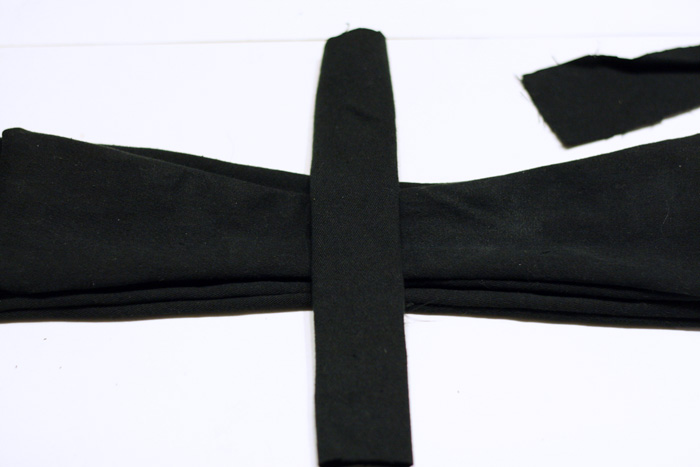 DIY bow belt, diy belt, diy refashion