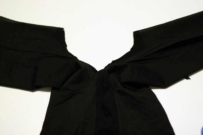 DIY :Sheer (Pantyhose) Top