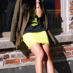 Outfit :: Neon Yellow and My Bernelle's
