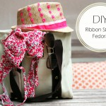 DIY :: Ribbon Straw Fedora