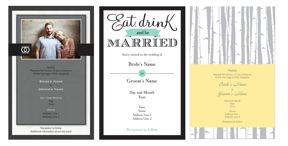 DIY Inspiration :: Making Your Own Wedding Invitations – My Little ...