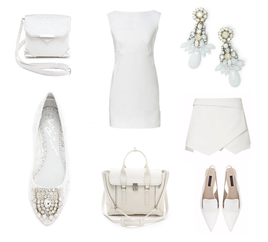 Lust List, White Out, White for Summer, White shoes, white bags, white trend