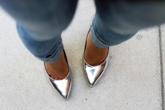 Silver Pumps, Silver Heels