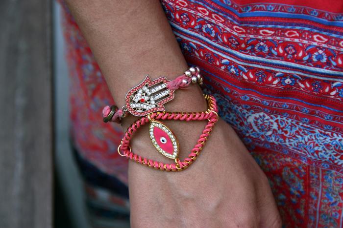 DIY Bracelet, DIY Evil Eye Bracelet