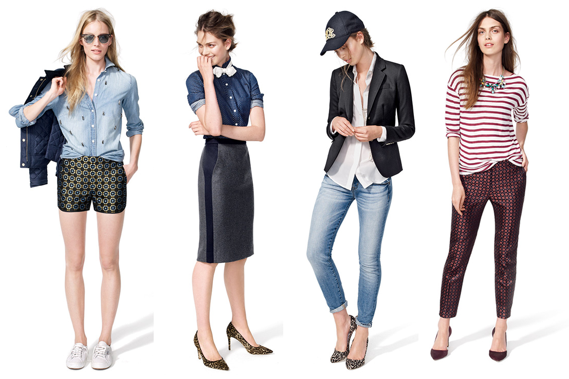 Jcrew Summer looks, Jcrew August looks