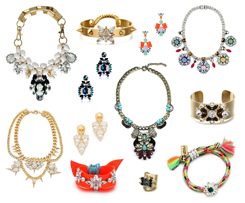 The Dancing Jewels, Shourouk, J.Crew, Statement Jewelry, Statement Baubles