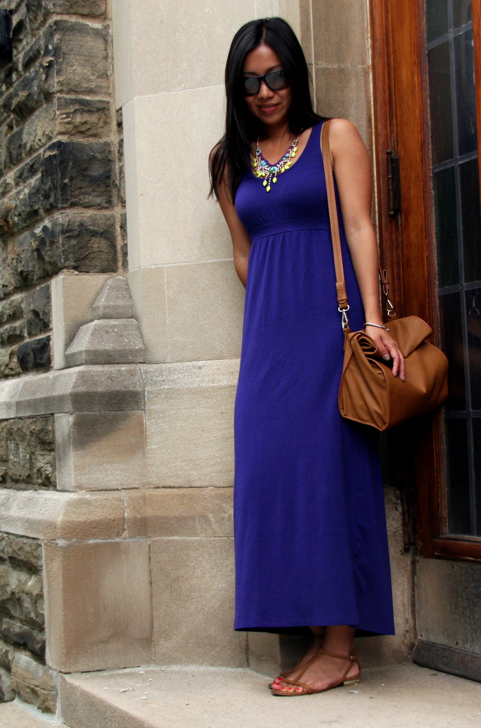 Me to We Style Outfit, Maxi Dress outfit, Purple Dress, Blogger Fashion, DIY Blogger, Toronto Fashion Blogger, Style Blogger