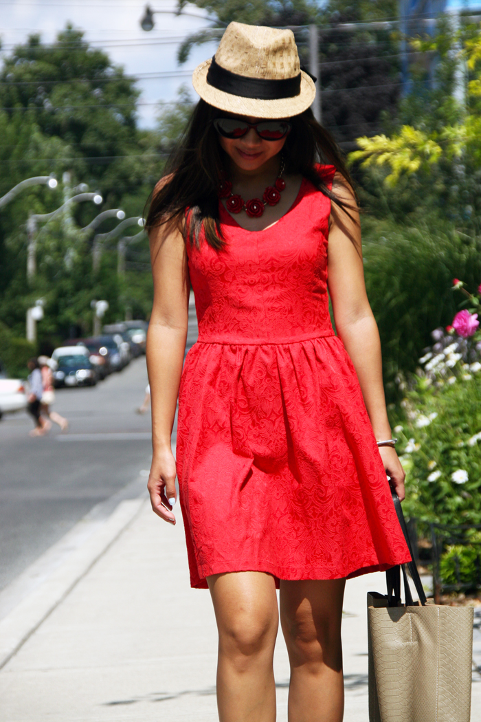 persunmall review, persunmall red dress