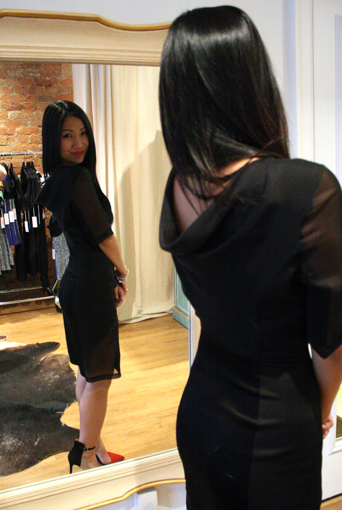 LBD, monica mei the jolie dress, jolie dress aime luxury, little black dress
