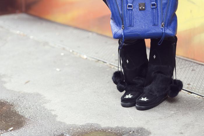 Manitobah Mukluk Kanada Boots outfit