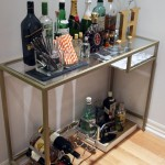 DIY :: Gold Bar Cart (Ikea Hack)
