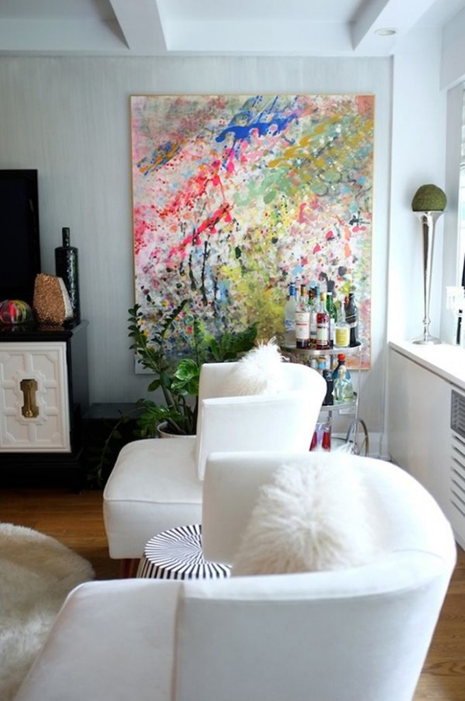DIY inspiration :: Large Canvas Art