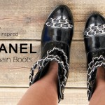 DIY :: Chanel inspired Chain Boots