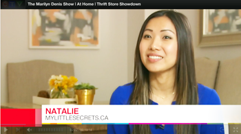 Marilyn Denis Thrift Store Showdown My Little Secrets Natalie Ho