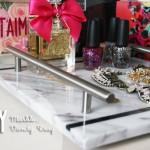 DIY :: Marble {slab} Vanity Tray