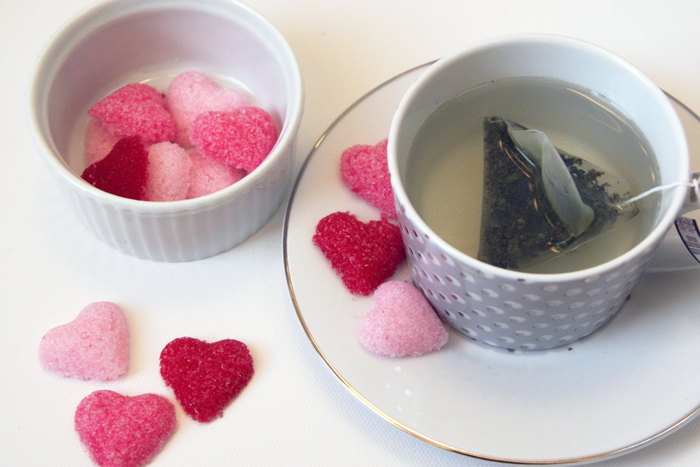 as diy sugar cubes edible homemade gifts heart shaped sugar cubes