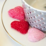 Valentine's DIY :: Heart Shaped Sugar Cubes