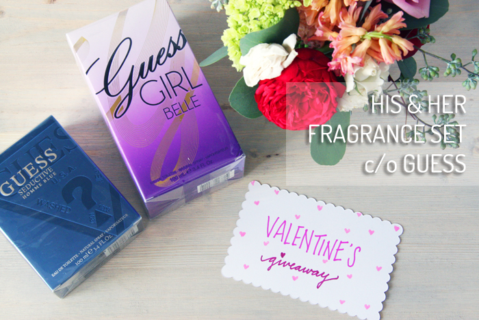 His and Her Fragrance Set Guess Giveawaypsd