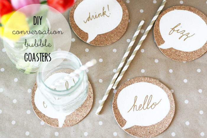 DIY Cork Coasters - Cover