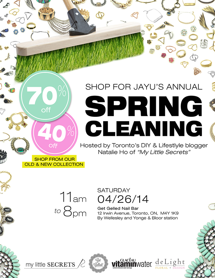 Shop for Jayu Spring Cleaning Sale Event Toronto