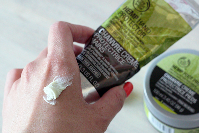 Spring skincare products - hands and feet The Body Shop 1 Hemp Hand protector