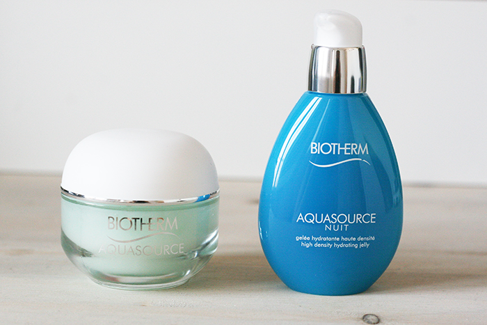 Spring skincare products - hydrating biotherm AquaSource