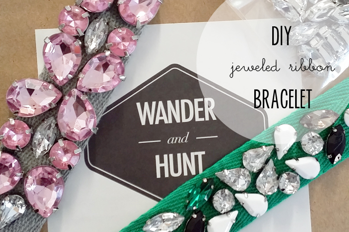 Wander and Hunt DIY Bracelet Tutorial a pair and a spare DIY kits