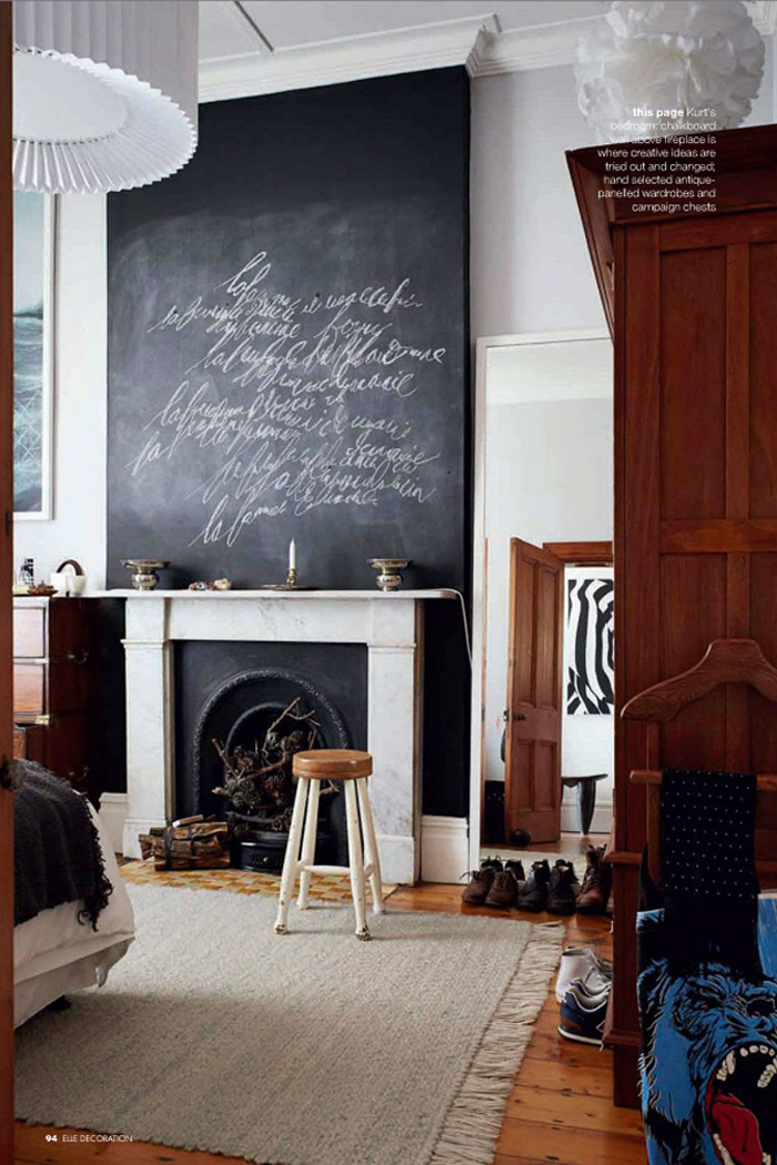DIY Chalkboard Blackboard Art