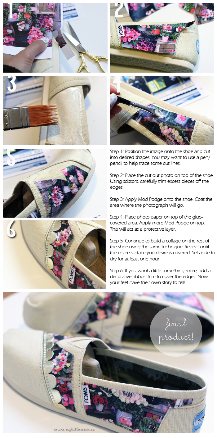 DIY TOMS with Instagram photos
