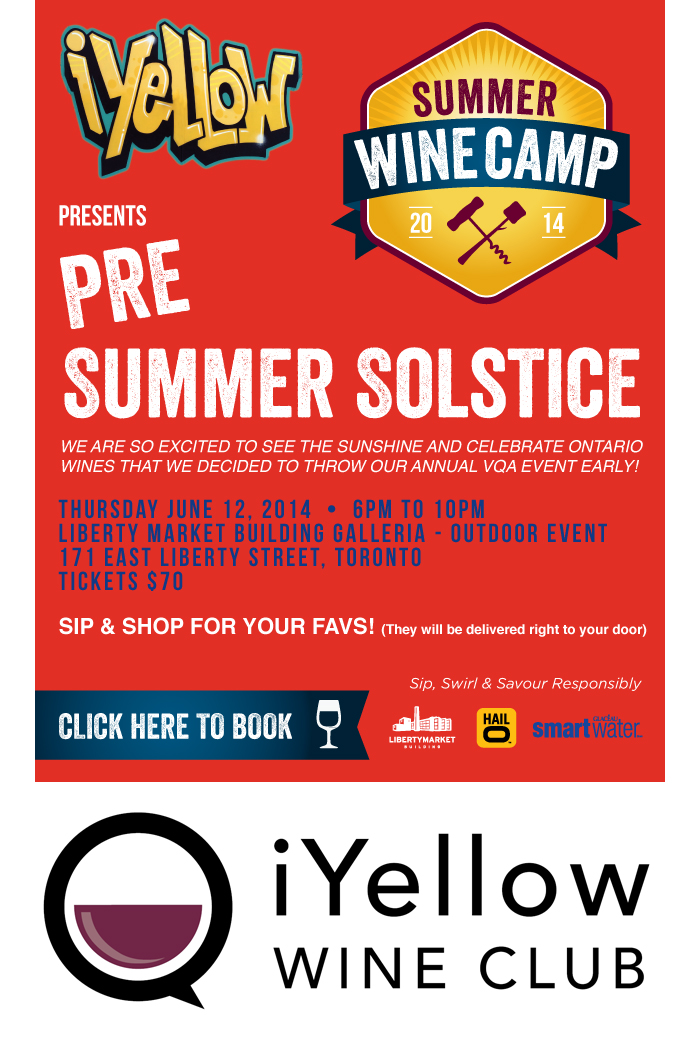 iYellow Wine Club Pre Summer Solstice Event Tickets Free Sale