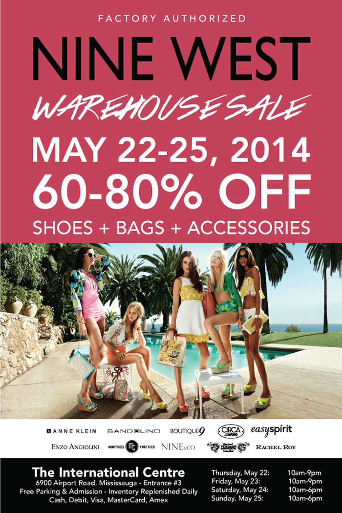 Nine West Canada Warehouse Sale