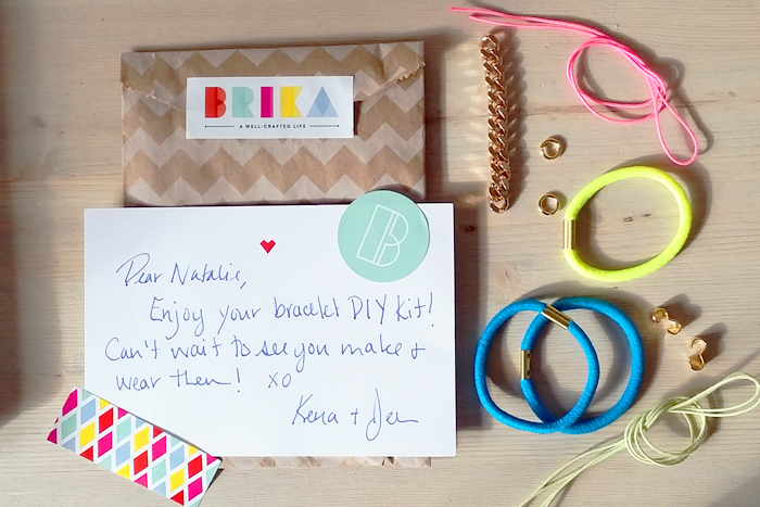 BRIKA DIY Bracelet Kit Tutorial