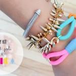 DIY :: C'est Joli x BRIKA Summer Bracelets DIY Kit