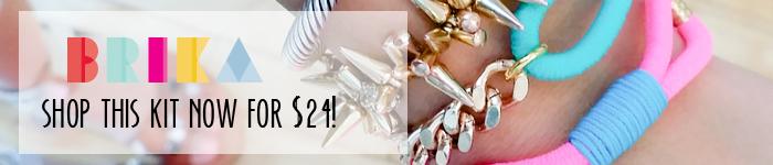 BRIKA DIY Bracelet Kit Shop Now
