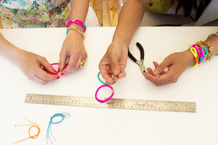 BRIKA DIY Neon Summer Bracelet Kit Tutorial