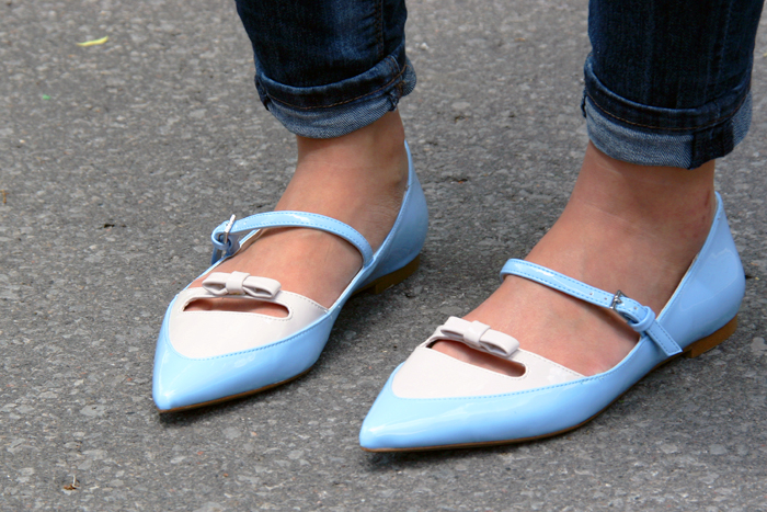 Shop for Jayu Discount Casual Chic Outfit Zara Bow Shoes