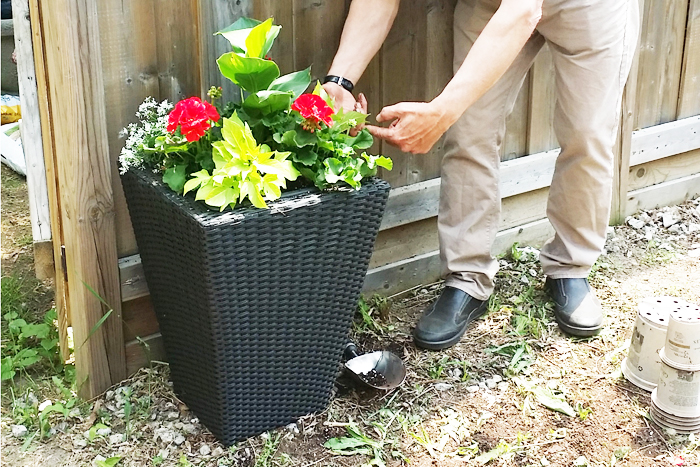 DIY Outdoor Planter President's Choice PC Giveaway