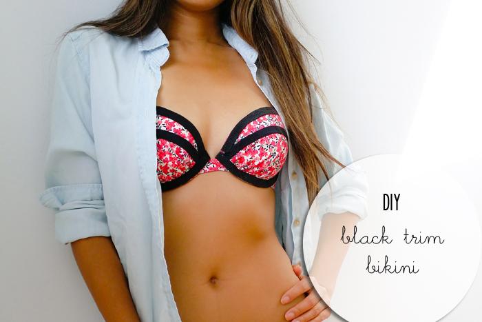 DIY Joe Fresh Black Trim Bikini