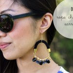 DIY Rope Chandelier Earrings