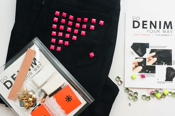 Joe Fresh DIY Denim Kits