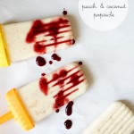 Food :: Peach and Coconut Popsicle