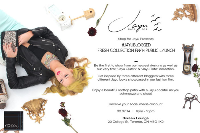 Shop for Jayu Fall Winter 2014 Collection Launch Invite