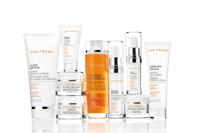 Joe Fresh Skin Care Collection