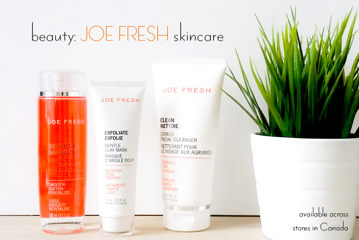 Joe Fresh Skin Care Review