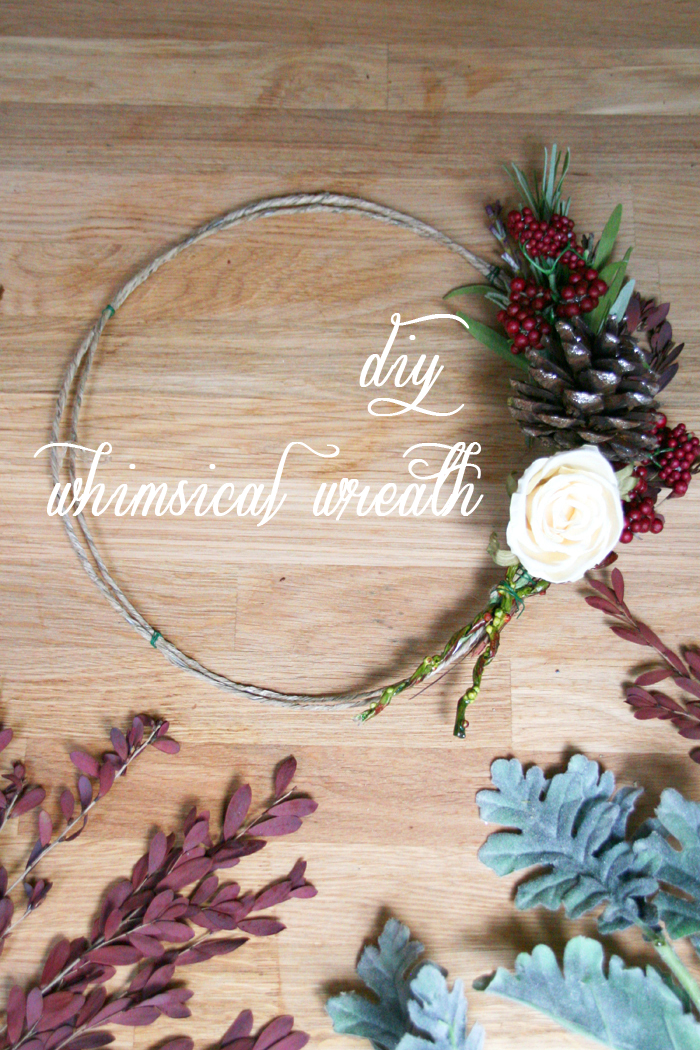DIY Whimsical Holiday Wreath Workshop Cover